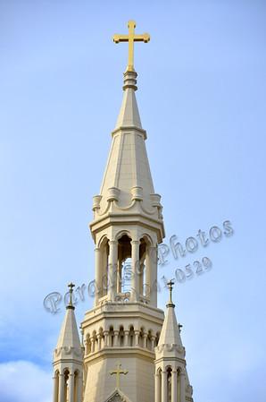St Peter Paul steeple SF 890