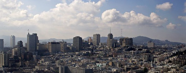 View of City from Coit Tower