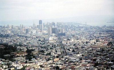 View of S.F. from Twin Peaks