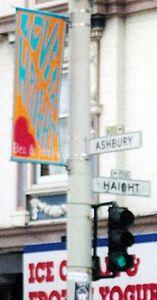Corner of Haight & Ashbury