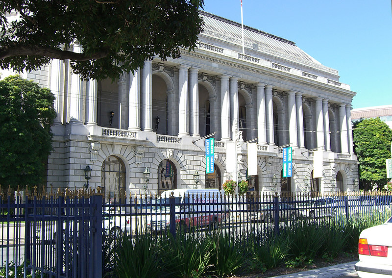 SF Performing Arts Library and Museum; Herbst Theatre