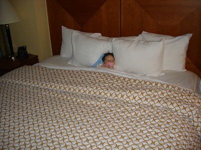 Baby's first king sized bed!