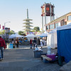 I had gotten up early and walked around in the cool morning watching all the vendors set up.