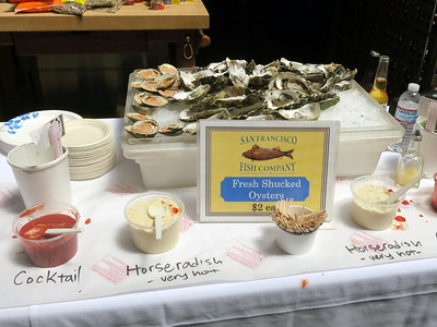 Ferry Building oysters