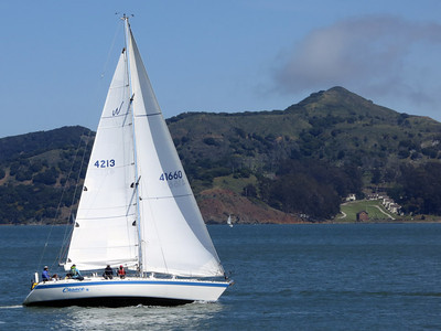 Sausalito sailboat