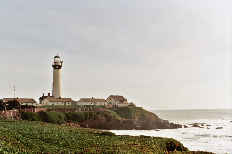 Pigeon Point Lighthouse. Kodak Ektar 100, Canon AE-1