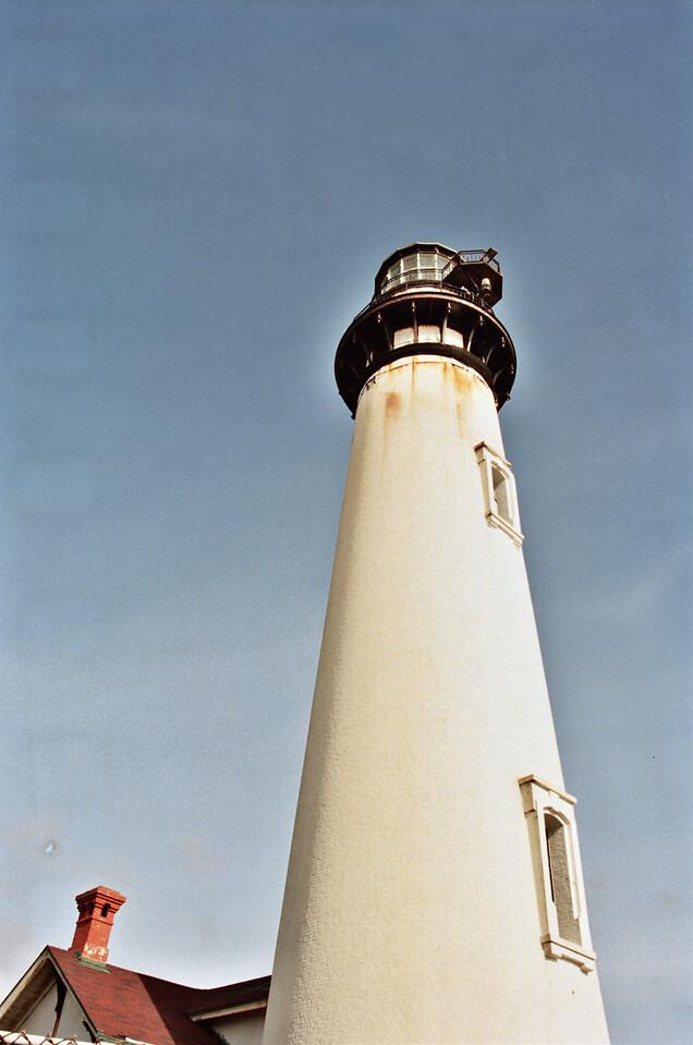 Pigeon Point Lighthouse. Kodak Ektar 100, Canon AE-1