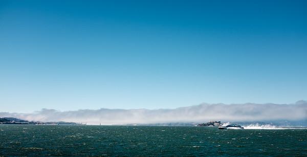 Ferry ride | San Francisco, CA | July 2016