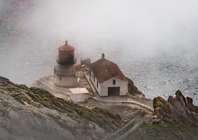 Point Reyes Lighthouse in the Fog