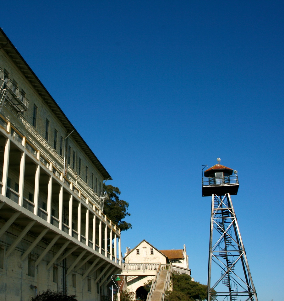 This next group of photographs were taken on the Alcatraz Prison Island in San Francisco Bay.