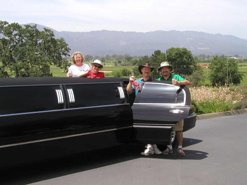 "Sharing a limo by California Wine Tours in Napa:        <br /> <a href=""http://www.californiawinetours.com/tour_sf_pub.html"">http://www.californiawinetours.com/tour_sf_pub.html</a>"