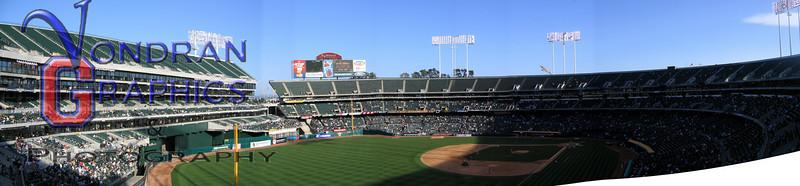 Oakland Stadium Stitch 2004-0506