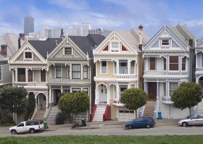 The Painted Ladies, San Francisco, Ca.