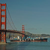 Golden Gate Bridge without fog.