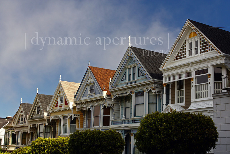 The Painted Ladies near Alamo Square