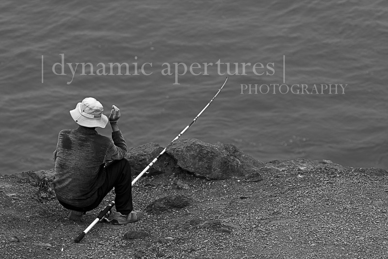 Fishing at Lands End