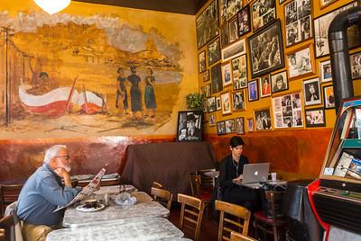 San Francisco, CA, USA, Italian Cafe, Caffe Trieste, North Beach