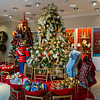 San Francisco, CA, USA, inside Luxury American Department Store, Neiman Marcus, Christmas Tree