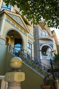 San Francisco, CA, USA, Fillmore, Pacific Heights