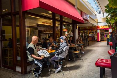 San Francisco, CA, USA, Inside, Japanese Restaurants, Shopping Center, Japantown Neighborhood