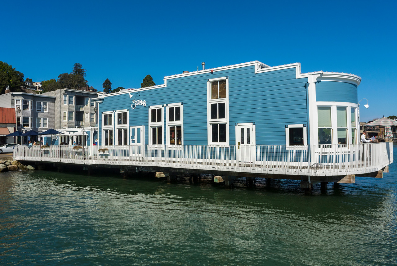 Sausalito, CA, USA, Tourists Visiting CIty, San Francisco Suburb