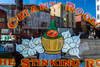 San Francisco, CA, USA, Italian Bistro Restaurant, The Stinking Rose, North Beach