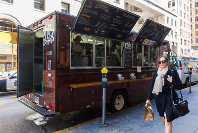 San Francisco, CA, USA, Street Scenes, Food Trucks, Philz Coffee, Daytime