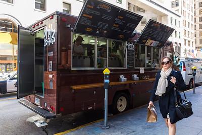 San Francisco, CA, USA, Street Scenes, Food Trucks, Philz Coffee, Daytime