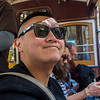 San Francisco, CA, USA, Street Scenes, Historic Trolley, Downtown Daytime