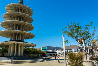 San Francisco, CA, USA, Japantown Neighborhood , Peace Pagoda, Credit Artist: Y. Tanigushi