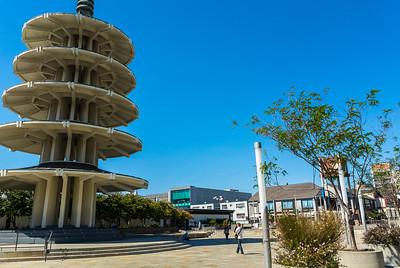 San Francisco, CA, USA, Japantown Neighborhood , Peace Pagoda, Credit Artist: Y. Tanigushi