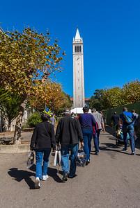Berkeley, CA, USA, University of California, Berkeley, Students on Campus
