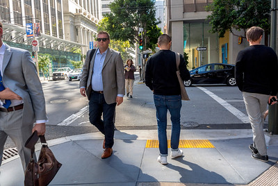 San Francisco, CA, USA, Businessmen, Street Scenes, Downtown,  Daytime