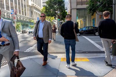 San Francisco, CA, USA, Businessmen, Street Scenes, Downtown,  Daytime