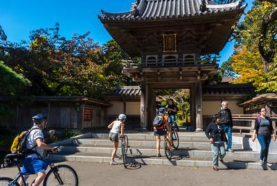 San Francisco, CA, USA, Golden Gate Park, Japanese Tea Garden