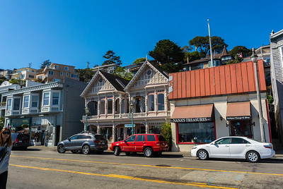 Sausalito, CA, USA, Tourists Visiting CIty, San Francisco Suburb