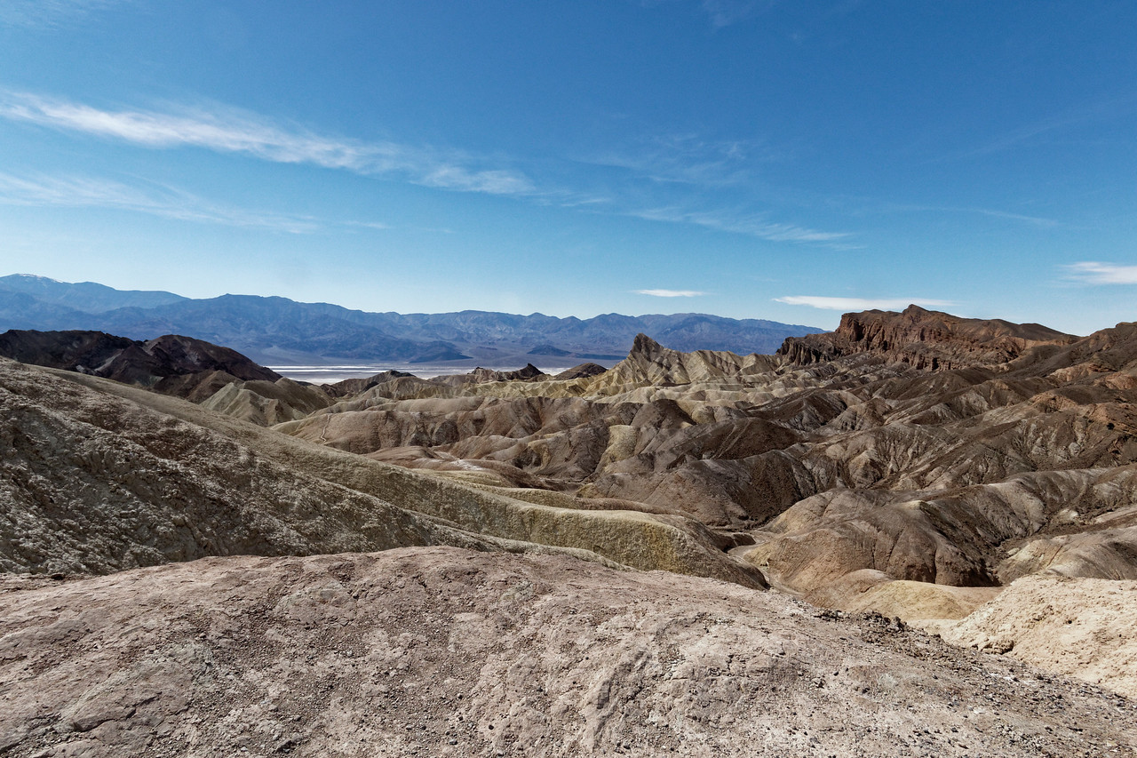 Death Valley -- Zabriskie point