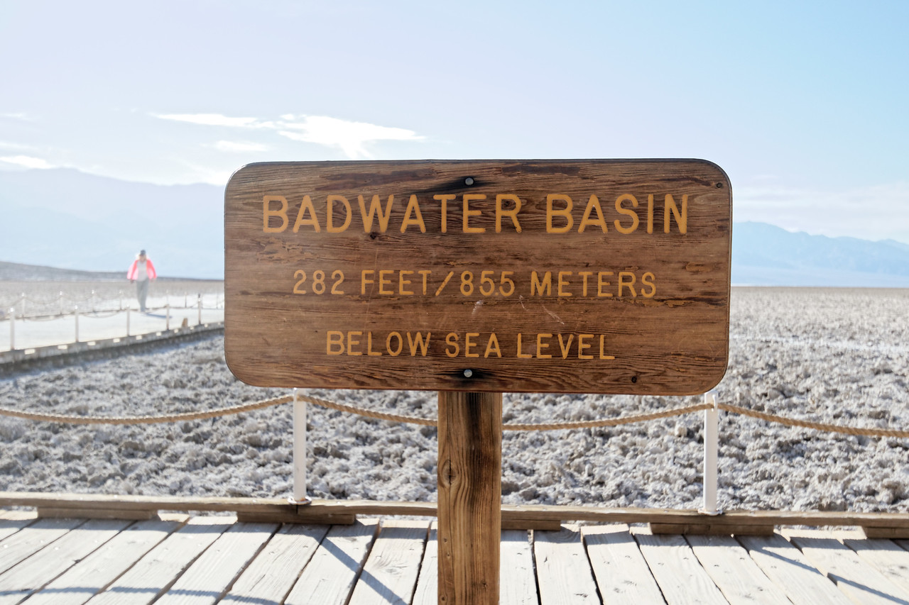 Death Valley - Lowest point in America