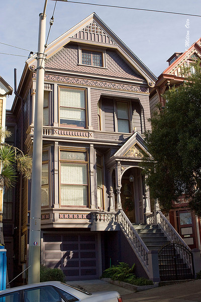 710 Asbury. Former residence of the Grateful Dead.
