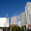 View from Yerba Buena Gardens.