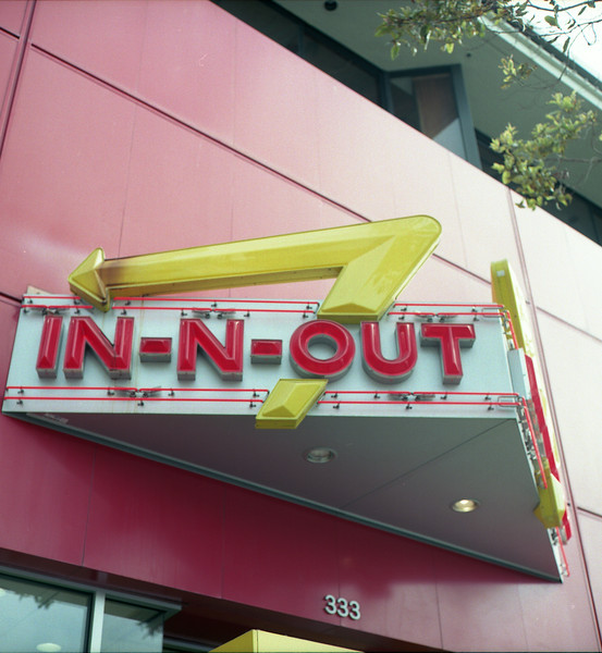 In-N-Out burger!