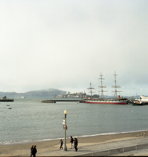 The bay and Alcatraz