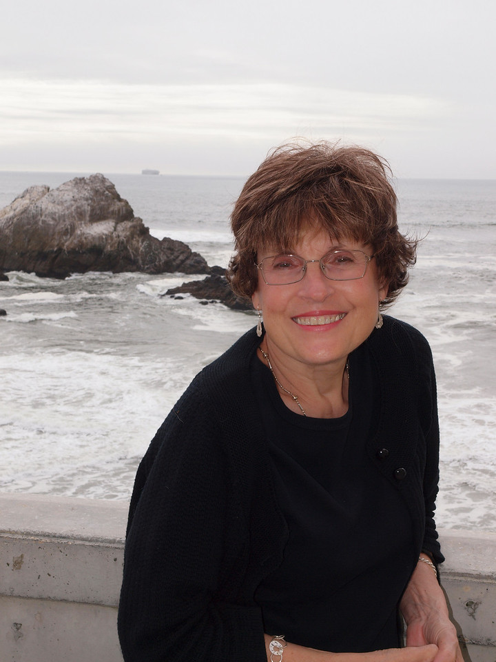 Katherine, from in front of the Cliff House.