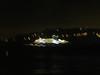 Ferry at night