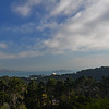 The Presidio - Inspiration Point Overlook.  Palace of Fine Arts and Alcatraz viewable in distance.