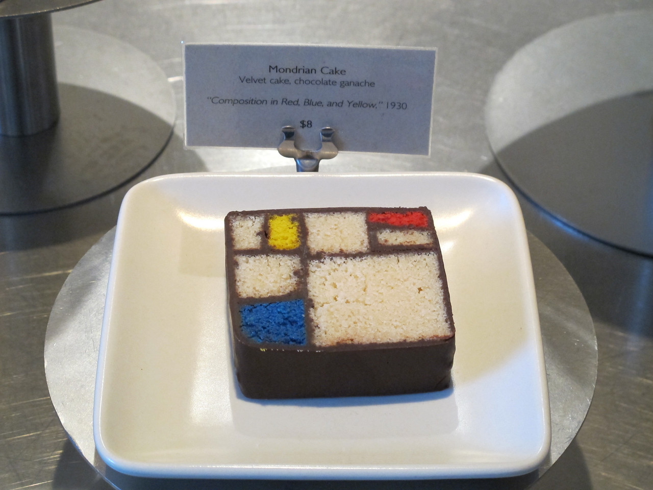At this museum even the cake is art!