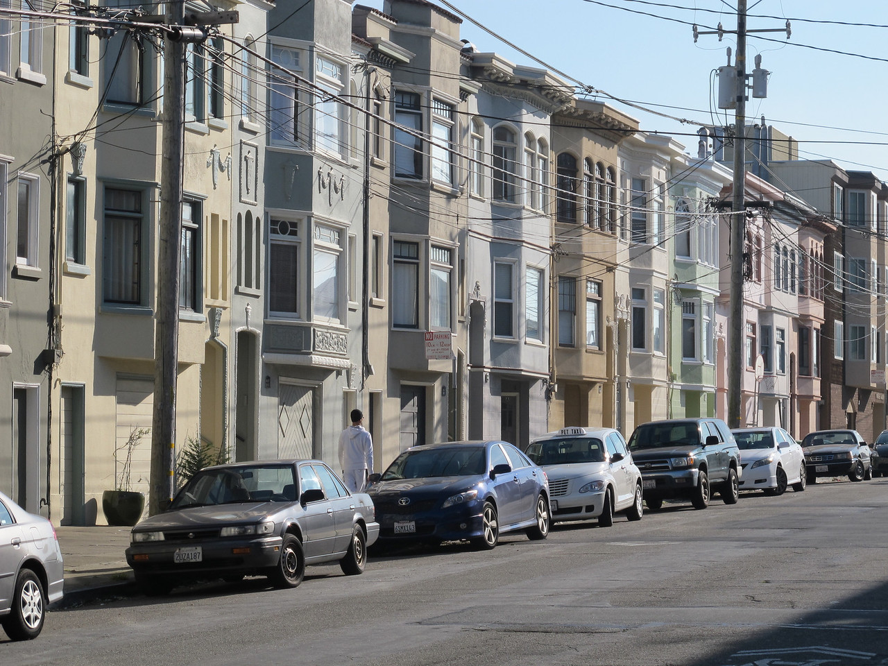 SF row houses.