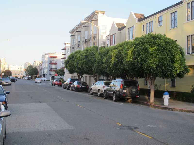 San Francisco, Marina District. Very expensive area.