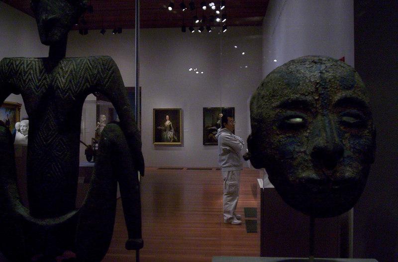 Inside the de Young Museum, San Francisco