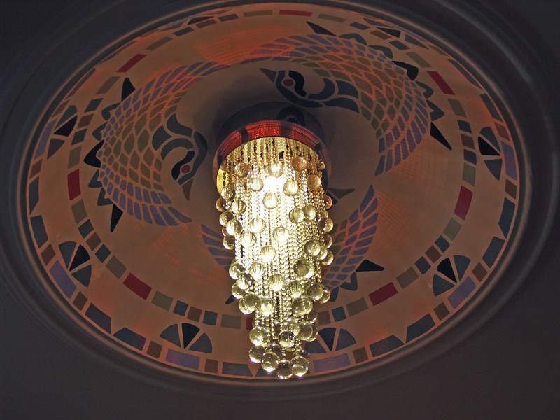 Chandelier in Hotel Union Square Lobby
